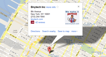 BNytech Reviews and Location