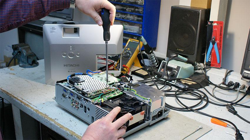 Projector repair New York, Mail-In projector repair